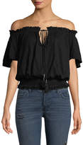 Free People Women's Off-The-Shoulder Blouson Top