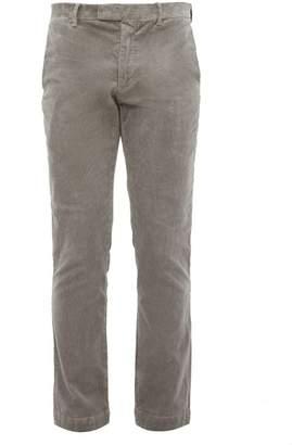 Polo Ralph Lauren Cotton Corduroy Slim Fit Chino Trousers - Mens - Grey