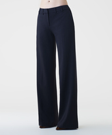Shape Fx Black Classic Wide-Leg Pants