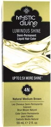Mystic Divine 4N Natural Medium Brown Demi-Permanent Liquid Hair Color