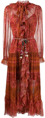 Zimmermann Edie ruffle long dress