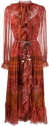 Zimmermann Edie ruffle long dress