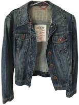 GUESS Blue Denim - Jeans Leather jackets