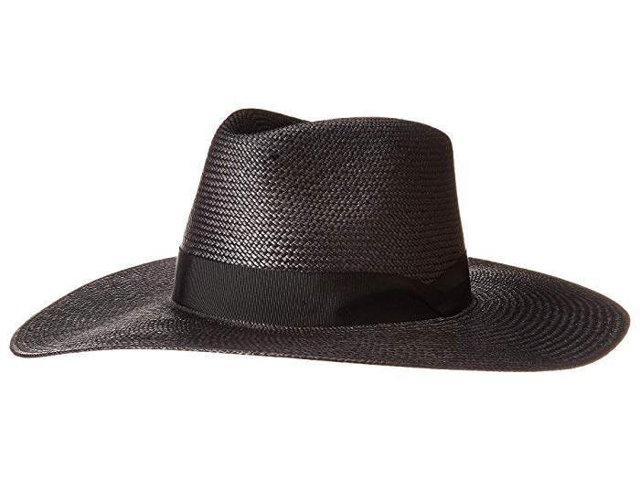 93e9b8a3200f6a Black Large Brim Hat - ShopStyle