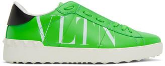 Valentino Green Garavani VLTN Open Sneakers