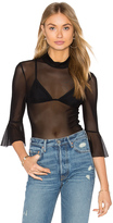 MinkPink Black Magic Top