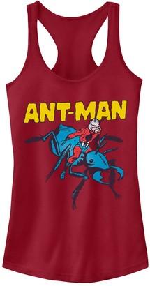 Juniors' Marvel Retro Ant-Man Pet Ant Racerback Tank Top