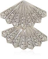 Anita Ko Diamond Fan Mono Earring