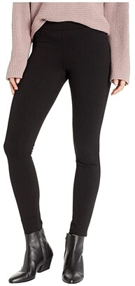 Blank NYC The Mercer Ponte Basic Skinny in Caviar (Caviar) Women's Jeans