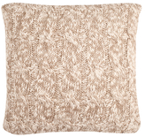 Chunky Knit Cotton Pillow
