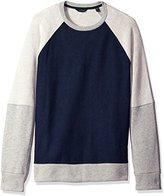 Nautica Men's Slim Fit Color Blocked Sweatshirt