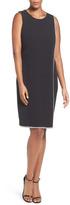 London Times L1930M Crystal Trim Sheath Dress