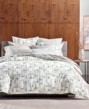 Hotel Collection Seaglass Cotton King Duvet Cover, Created for Macy's Bedding