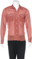 Gucci Abstract Print Woven Shirt