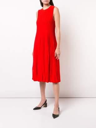 Carolina Herrera pleated tank dress