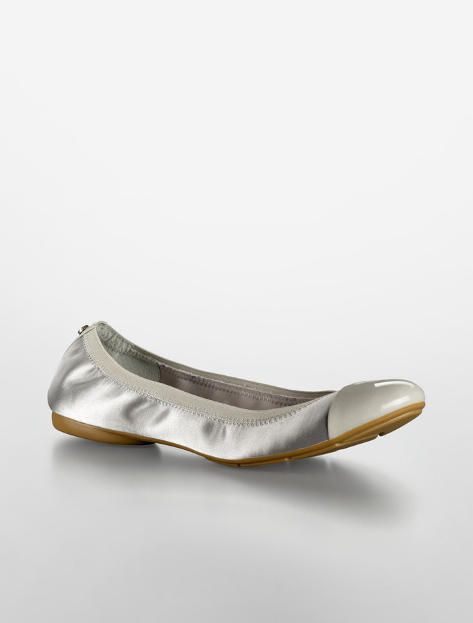 Calvin Klein Page Cap Toe Ballet Flat