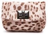 Donald J Pliner Women's TEATIME - SIGNATURE Snow Leopard Haircalf Clutch