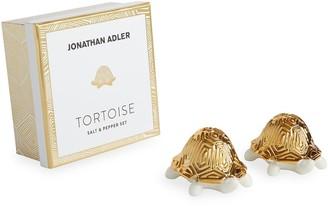 Jonathan Adler Tortoise Salt & Pepper Set