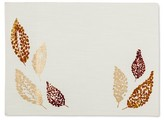 Threshold Fall Leaves Placemat Tan