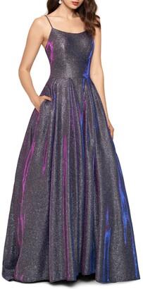Betsy & Adam Galaxy Glitter Ballgown