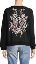 Etienne Marcel Women's Natalie Embroidered Sweatshirt