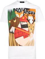 DSQUARED2 Lumberjack T-Shirt