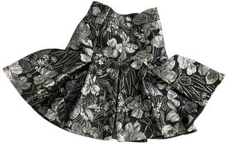 Dolce & Gabbana Silver Polyester Skirts