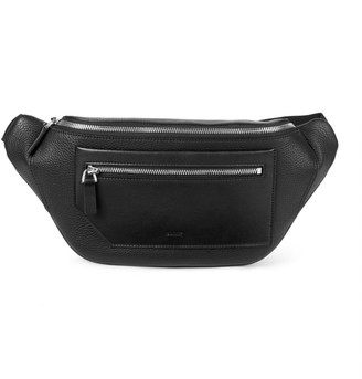 Bally Brandon Pebbled Leather Belt Bag