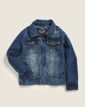 Urban Republic Toddler Boys) Medium Wash Full-Zip Denim Jacket