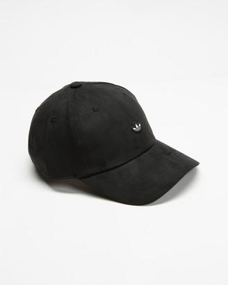 adidas Black Caps - Adicolor Premium Essentials Suede Cap - Size One Size at The Iconic