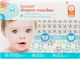 The Honest Company Boy Diapers Club pack, Bicycles + Skulls