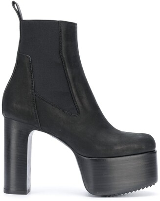 Rick Owens High-Heel Ankle Boots