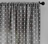 Pottery Barn Caci Dot Curtain