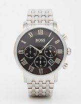 HUGO BOSS BOSS By Chronograph Silver Chronograph Watch 1513323