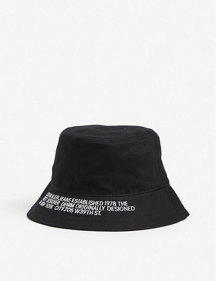 Calvin Klein Logo cotton bucket hat