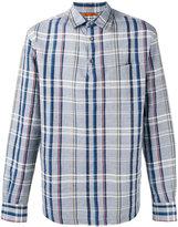 Barena checked shirt - men - Cotton/Linen/Flax - 48