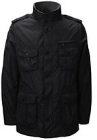 Classic Men's Military Jacket-Black