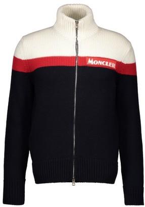 Moncler Zipped logo cardigan