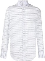 Finamore 1925 Napoli paisley print long sleeve shirt