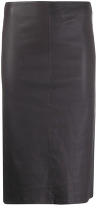 Arma Fitted Midi Skirt