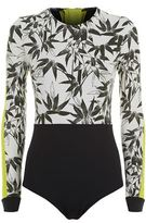 The Upside Bamboo Print Paddle Suit
