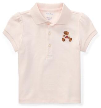 Ralph Lauren Polo Bear Cotton Polo Shirt