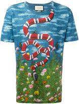 Gucci sky and garden print T-shirt