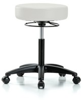 Height Adjustable Massage Therapy Swivel Stool Perch Chairs & Stools Seat Color: Orange Kist Vinyl, Upholstery: Vinyl