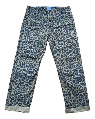 Laurence Dolige Multicolour Cotton Trousers for Women
