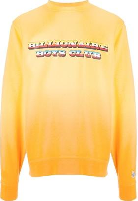Billionaire Boys Club Logo Print Gradient Sweatshirt