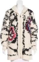 Etoile Isabel Marant Oversize Zip-Up Cardigan