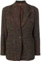Romeo Gigli Pre Owned 1990's tweed jacket