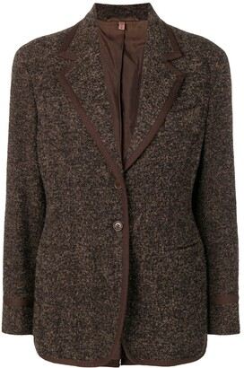 Romeo Gigli Pre Owned 1990's Tweed Jacket