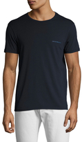 Emporio Armani Pop Color Stretch Cotton Crewneck T-Shirt
